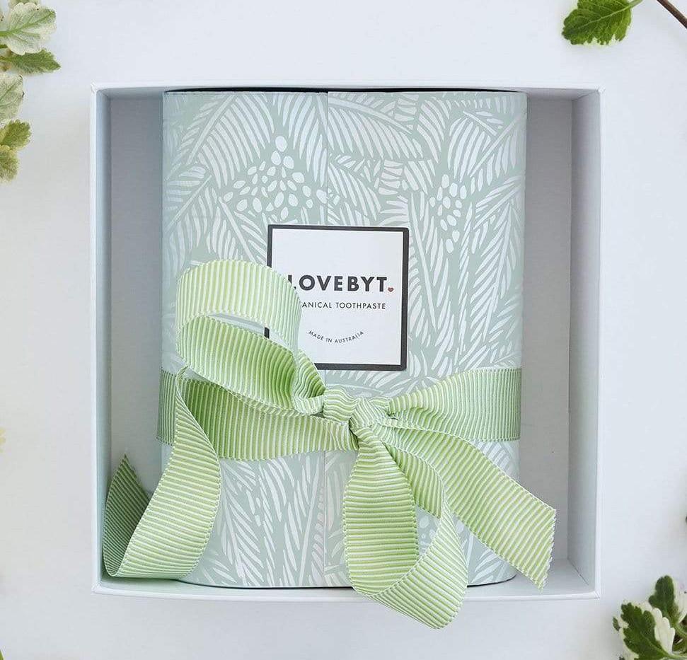 LOVEBYT GIFT(Peppermint + Charcoal & Mint)
