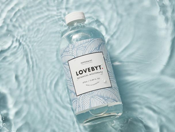 LOVEBYT  natural mouthwash