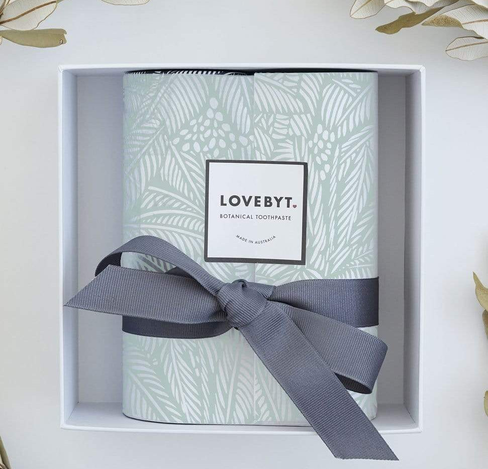LOVEBYT GIFT(Charcoal & Mint + Cinnamon & Clove)