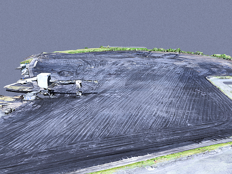 Topographic Survey - Coal Stockpile