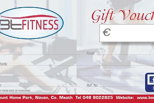 BtFitness Gift Voucher