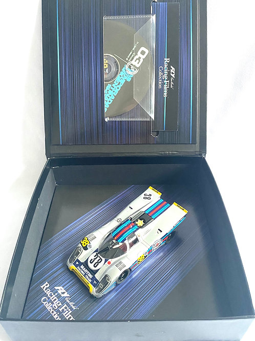 Rare 1:32 scale Fly Porsche 917K Racing Films Collection Model, DVD & Booklet