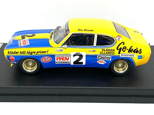 1:43 scale Trofeu Model of a Ford Capri 2600 RS from 1973 Limited Edition of 150