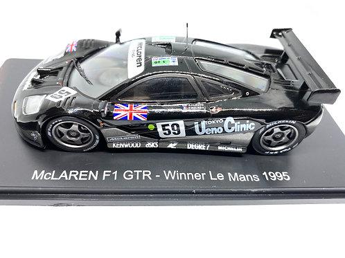 1:43 scale Spark McLaren F1 GTR Le Mans Winning Sports Car - JJ Lehto 1995 Model