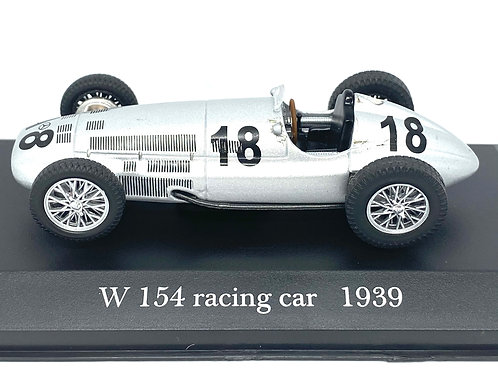 1:43 scale De Agostini Mercedes Benz W154 Race Car 1939 Diecast Model Race Car