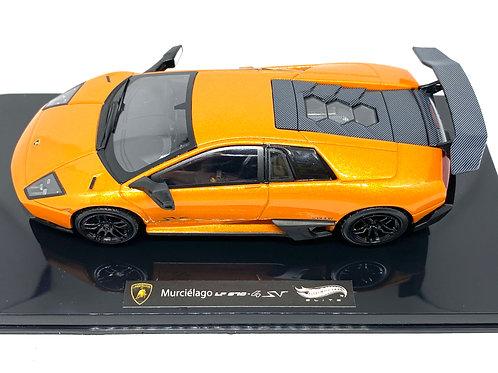Ltd Ed 1:43 scale Hotwheels Elite Lamborghini Murcielago LP 670 Diecast Model