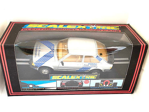 Vintage Boxed Ford Escort XR3i Scalextric Slot Car, Scalextric C342 Model Car