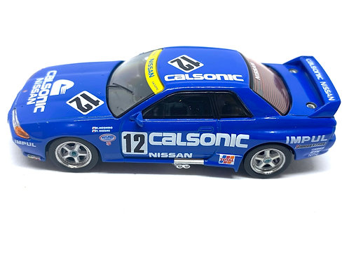 1:64 scale Mini GT TSM Model Nissan Skyline GT-R Group A Touring Car #12 1990