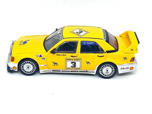 1:64 scale Mini GT TSM Model Mercedes Benz 190E DTM Touring Car R Asch 1990