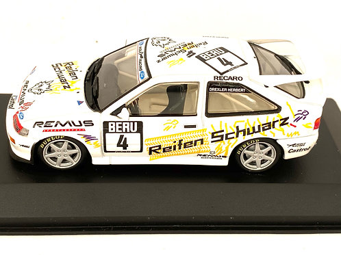 1:43 Scale Minichamps Ford Escort Cosworth Touring Car - H Drexler 1994