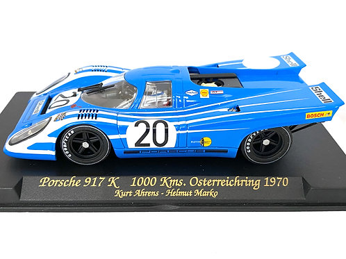 1:32 scale Fly Slot Car Porsche 917 K Sports Car - K Ahrens & H Marko 1970 Model