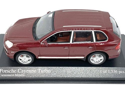 Limited Edition 1:43 scale Minichamps Porsche Cayenne Turbo Road Car Model