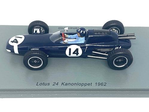 1:43 scale Spark Lotus 24 F1 Car - Graham Hill 1962 Diecast Model Race Car