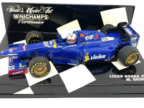 1:43 scale Minichamps Model Ligier JS41 F1 Car, Martin Brundle 1995 Model F1 Car