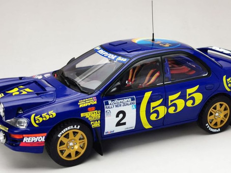 Coming Soon - 1/18 scale Colin McRae Subaru Impreza by Sun Star Models