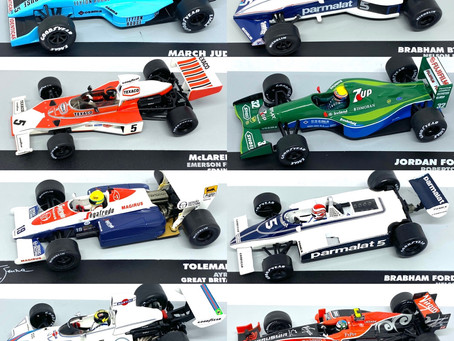 1/43 scale Brazilian F1drivers collection now in store