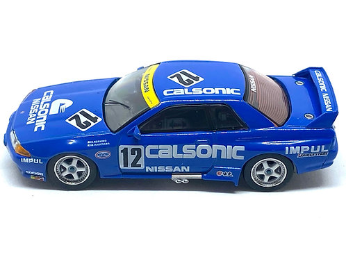 1:64 scale Mini GT TSM Model Nissan Skyline GT-R Group A Touring Car #12 1992