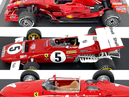 1/43 scale Die cast Ferrari Collection