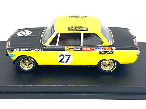 1:43 scale Trofeu Model BMW 2002 from the Nurburgring in 1972 Ltd Edition of 150