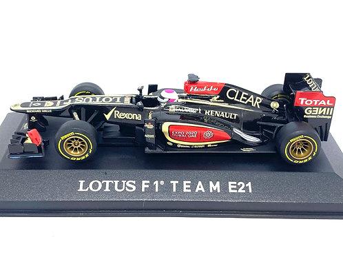 Ltd Ed 1:43 scale Corgi Lotus E21 F1 Car H Kovalainen Brazilian Grand Prix 2013