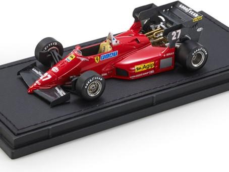 Ferrari 126 C4 F1 Diecast Models