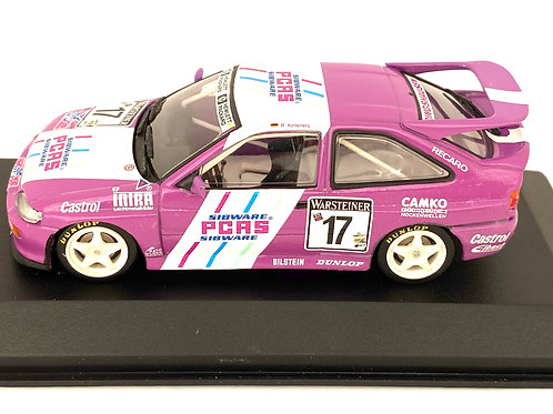 1:43 Scale Minichamps Ford Escort Cosworth Touring Car - R Kelleners 1993 Model
