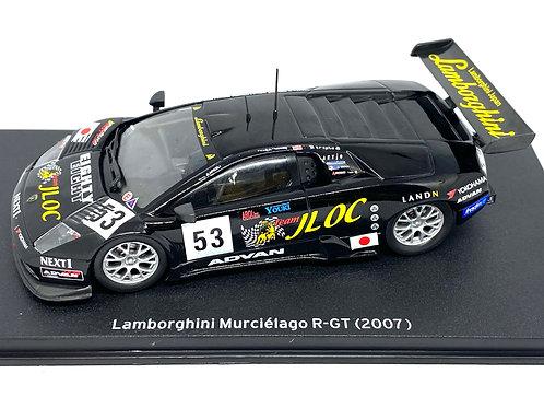 1:43 scale Altaya Lamborghini Murcielago R-GT Sports Car, 2007 GT Race Car Model