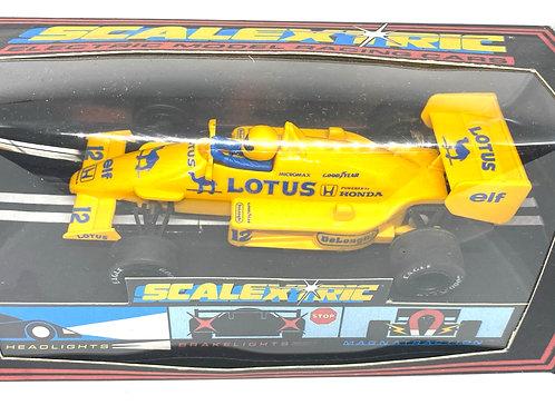 Vintage Lotus 99T F1 Scalextric Slot Car, Scalextric C434 Ayrton Senna F1 Car