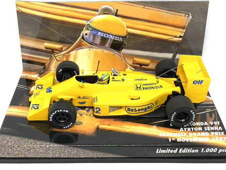 Limited Edition Minichamps Lotus 99T - Ayrton Senna 1987