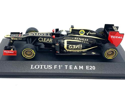 Ltd Ed 1:43 scale Corgi Lotus E20 F1 Car J D'Ambrosio Test Car 2012 Diecast Car