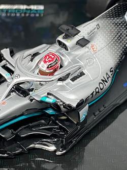 Mercedes W10 - L Hamilton USA 19 3