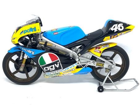 Minichamps Aprilia 125 GP Bike - Valentino Rossi 1996