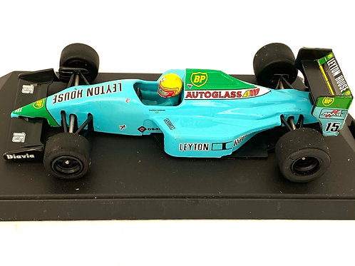 1:43 scale Boxed Onyx Leyton House March CG901 F1 Car - M Gugelmin 1990 Model