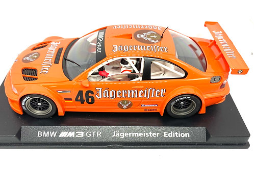 Rare 1:32 scale Fly Slot Car BMW M3 GTR Jagermeister Edition, Fully Working Car