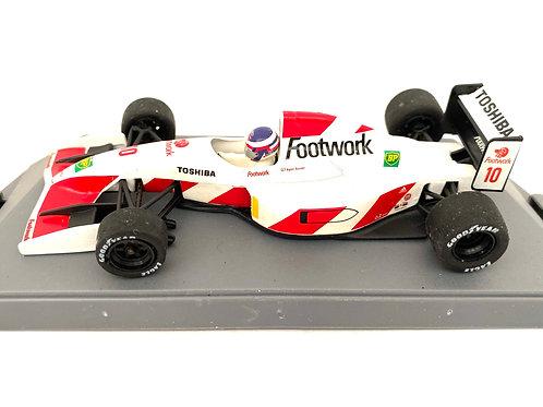 1:43 scale Boxed Onyx Footwork Arrows F1 Car - Aguri Suzuki 1992 F1 Diecast Car