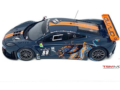1:43 scale TSM Model McLaren MP4-12C GT3 Sports Car - Spa 24 Hours 2012 Model