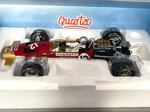 1:18 scale Quartzo Lotus 49B F1 Model - Mario Andretti USA Grand Prix 1968