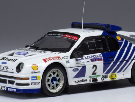 1/43 scale IXO Ford RS200 Diecast Models