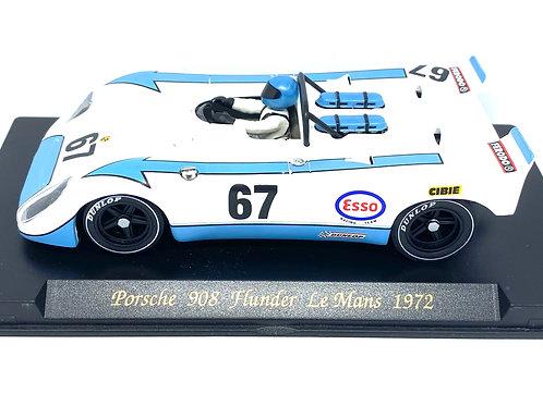 1:32 scale Fly Slot Car Porsche 908 Flunder Poirot & Farjon Le Mans 1972 Model