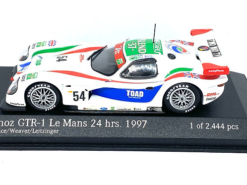 Ltd Ed 1:43 scale Action Panoz GTR-1 Le Mans 24 Hours Race Car - Andy Wallace 97