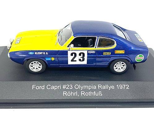 1:43 Scale CMR Replicars Ford Capri Rally Car - W Rohrl 1972 Diecast Model Car
