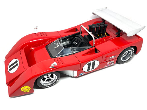 Stunning 1:18 scale GMP McLaren M8B Low Wing Can Am Car Lothar Motschenbacher