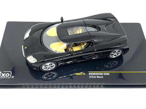 1:43 scale IXO Koenigsegg CC8S Sports Car 2002 Diecast Model Collectable Car
