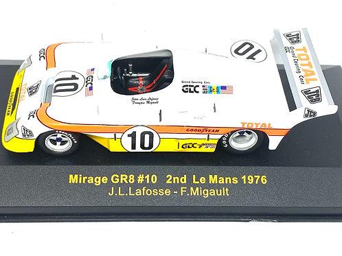 1:43 scale IXO Mirage GR8 Sports Car - Lafosse & Migault Le Mans 1976 Die Cast
