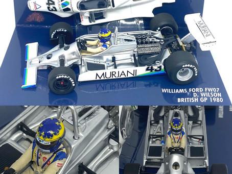 Williams FW07 - Desire Wilson 1980