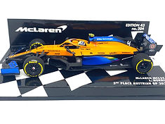 McLaren MCL35 - L Norris Austrian GP 1.J