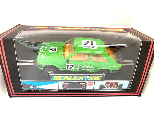 Vintage Boxed Ford Escort XR3i Scalextric Slot Car, Scalextric C375 Model Car