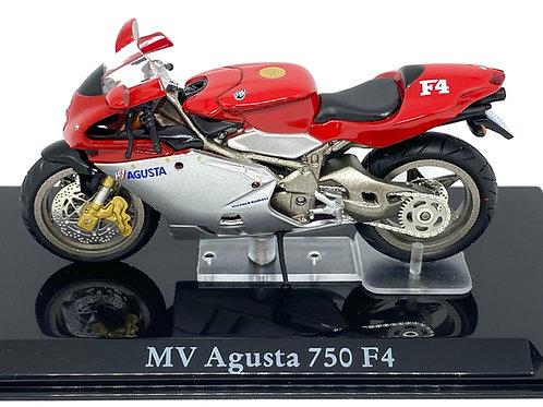 1:24 scale Atlas Editions MV Agusta 750 F4 Superbike Diecast Model Motorbike