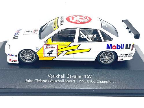1:43 scale Atlas Editions BTCC Touring Car Vauxhall Cavalier John Cleland 1995
