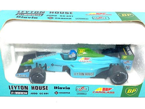 1:43 scale Onyx Leyton House March F1 Car - Ivan Capelli 1989 F1 Diecast Model